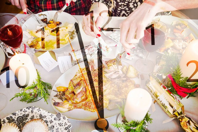 This is the exact time you'll give up your Christmas diet Getty
