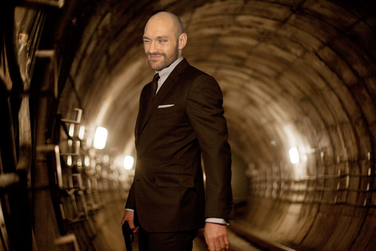 Tyson Fury as James Bond Rex