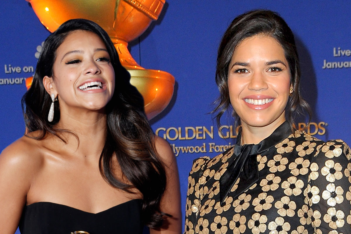 The Golden Globes' Twitter account just got America Ferrera and Gina Rodriguez mixed up…