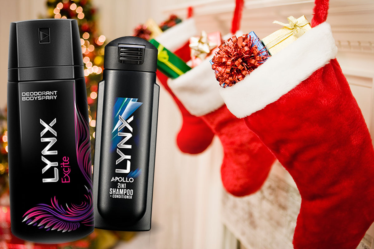 XX best reactions to people getting Lynx in their stockings Getty