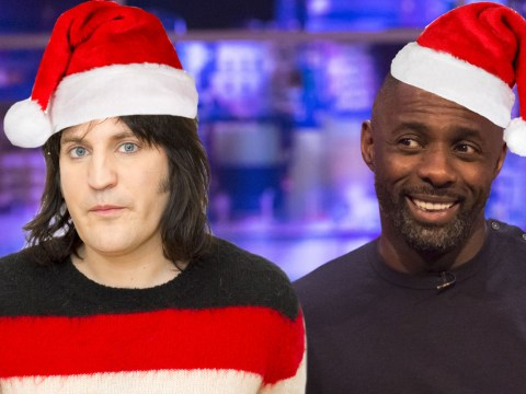 Idris Elba rapping on Noel Fielding's new Christmas single I Can't Wait For Christmas is perfection
