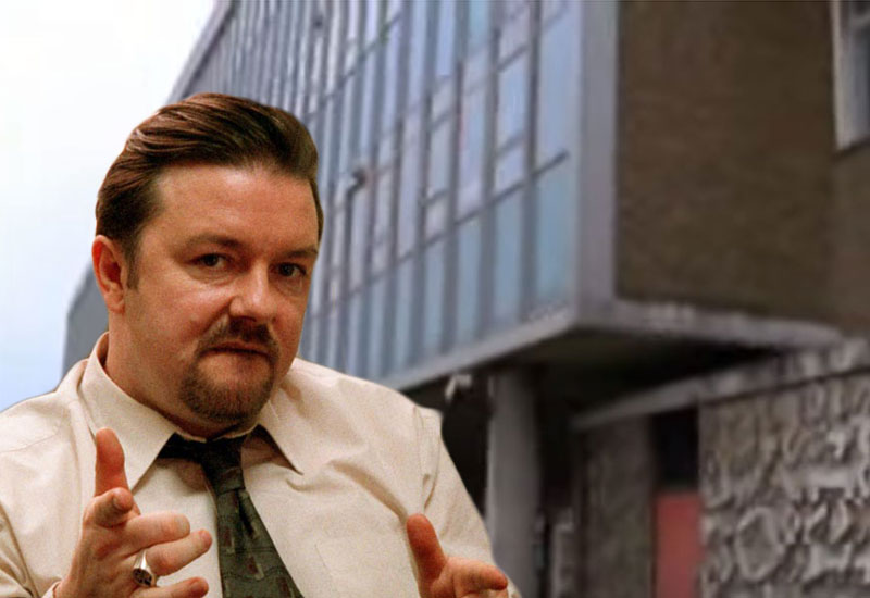David Brent's office in Slough sells for £325million BBC
