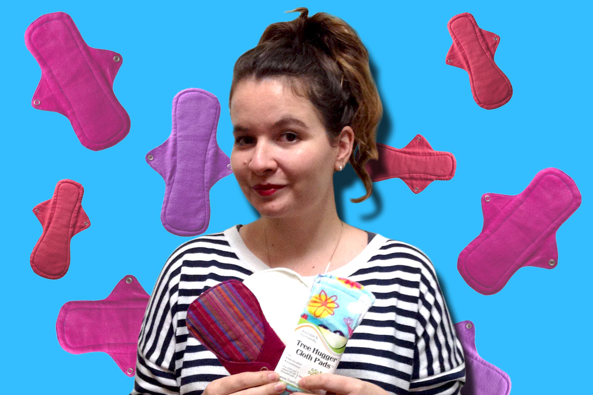 I used reusable sanitary towels and I liked it (and you should too)