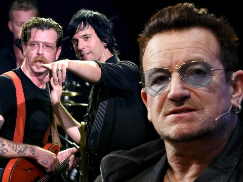 U2 bought Eagles Of Death Metal phones and offered them their private jet after Paris ordeal