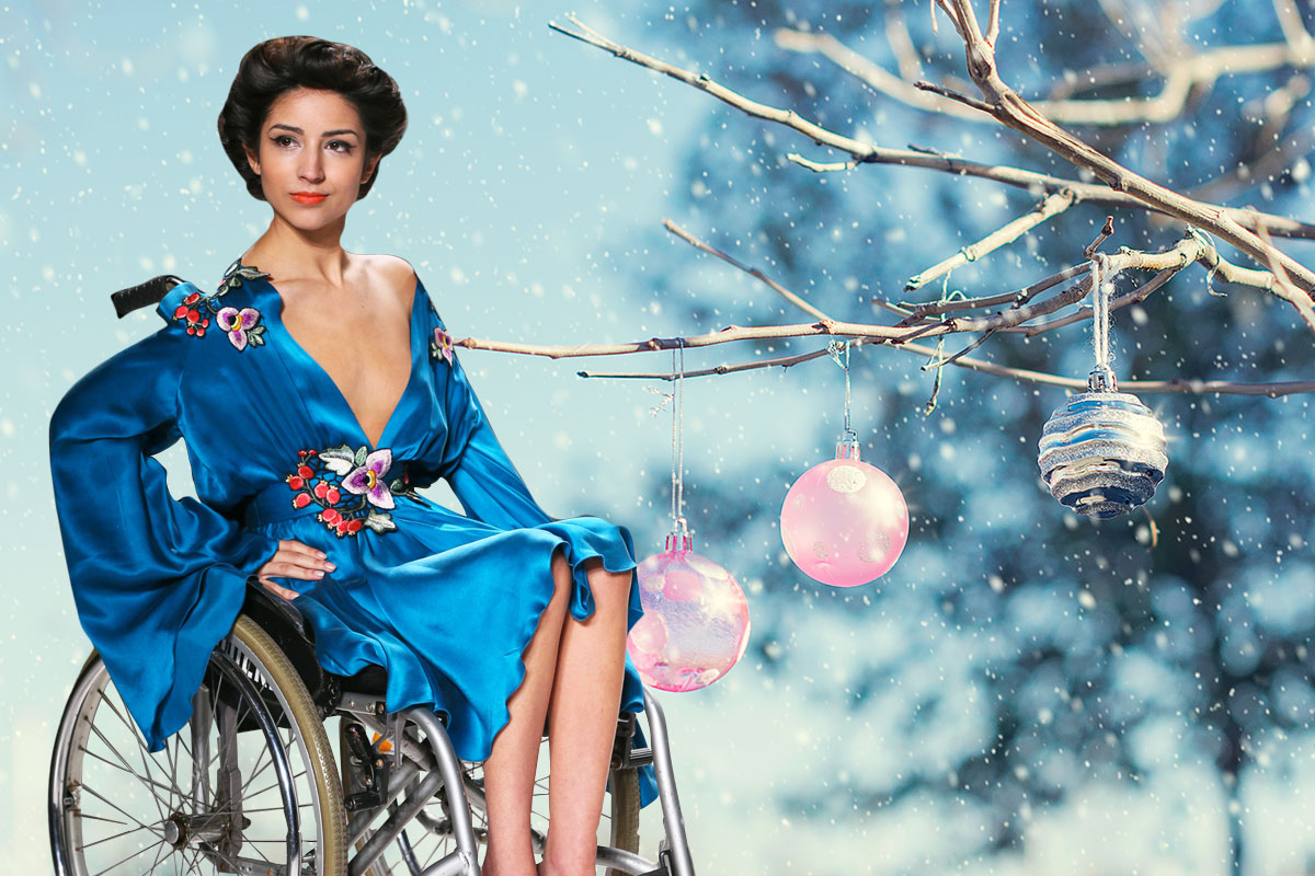 How to dress to impress this festive party season if you're a wheelchair user