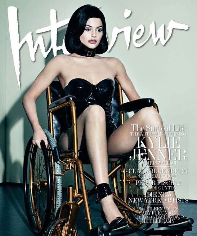 ylie Jenner is featured on the cover of Interview Magazine's December issue. Credit: Interview Magazine