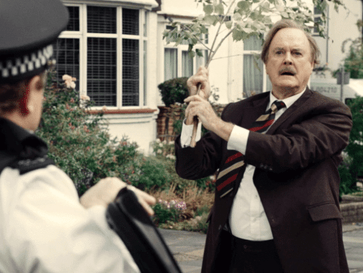 Basil Fawlty is back! John Cleese revives his most famous character for new Specsavers ad