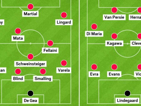 Revealed: The team of Louis van Gaal rejects that could beat current Manchester United side