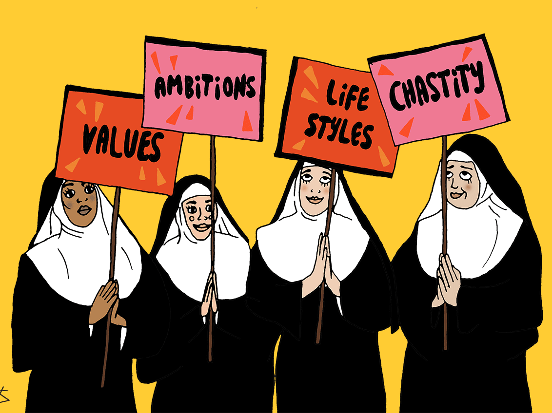 Here's what a nun taught me about dating