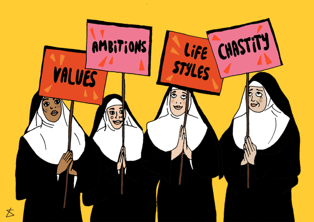 Here's what a nun taught me about dating (Picture: Liberty Antonia Sadler for Metro)