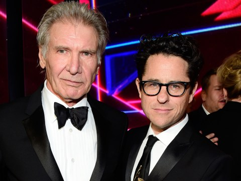 JJ Abrams broke his back while trying to rescue Harrison Ford on the Star Wars set