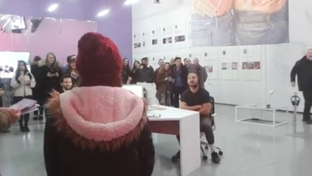 Shia LaBeouf sobs as ten-year-old manages to touch his soul by singing for him