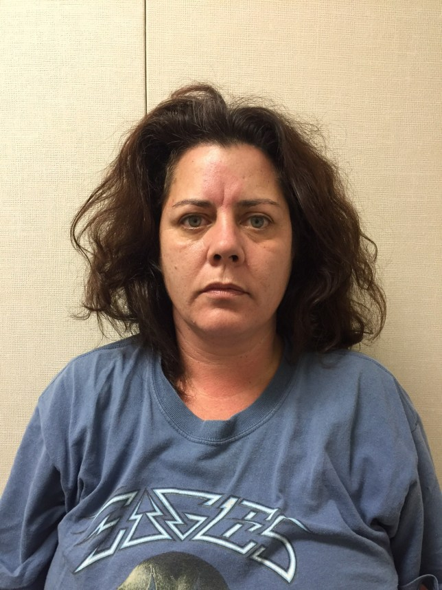 Dawn Diana Raines-Hewes, 51, is in police custody (Picture: Fairfield Police)