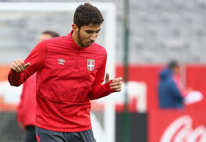 Marko Grujic confirms transfer talks with Liverpool