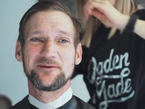 Hairdressers came together to give homeless people free haircuts for Christmas