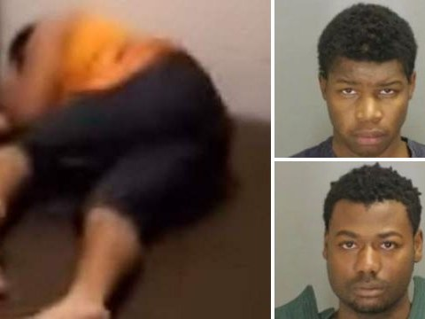 Two men video themselves robbing and beating up a man with Cerebral Palsy