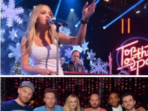 This year's festive Top Of The Pops is looking like a right Christmas cracker
