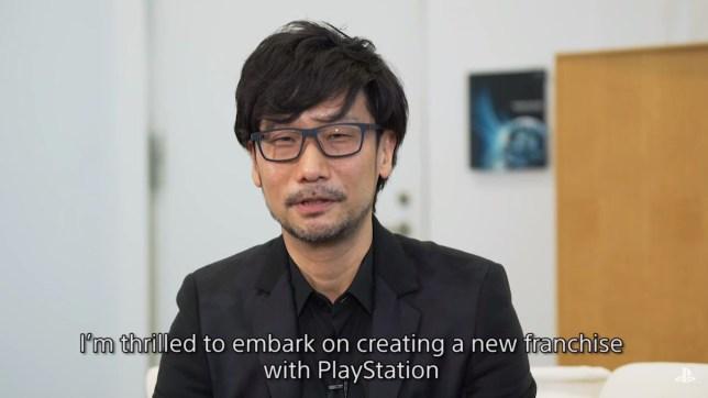 Hideo Kojima and his beard of freedom
