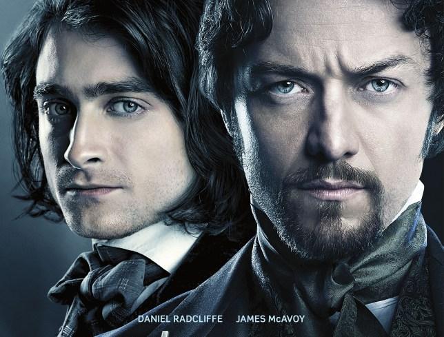 James McAvoy starring with Daniel Radcliffe in Victor Frankenstein