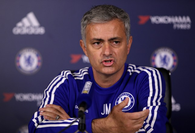 Chelsea manager Jose Mourinho talks to the media during a press conference at Chelsea Training Ground on December 11, 2015 in Cobham, England.