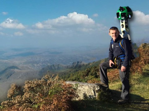 Google Street View Camera climbs the 'Three Peaks' to help walkers plan routes