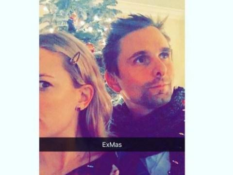 Kate Hudson and Matt Bellamy are sharing 'Exmas' together