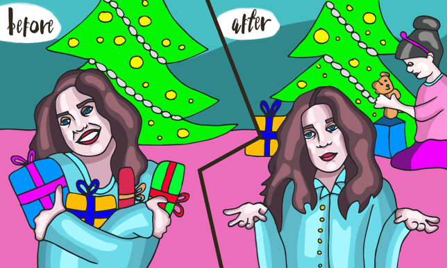 Life before babies vs life after babies: 7 ways your Christmas has changed---mmuffin