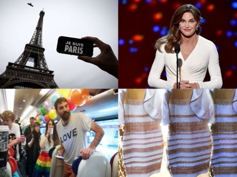 Twitter's year in review: #PrayForParis and #HomeToVote show love wins in 2015