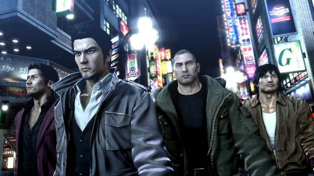 Yakuza 5 (PS3) - the mean streets of Tokyo