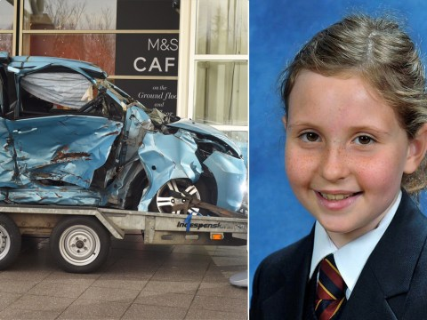 Parents of girl, 10, killed by drink driver put car on display as warning to others