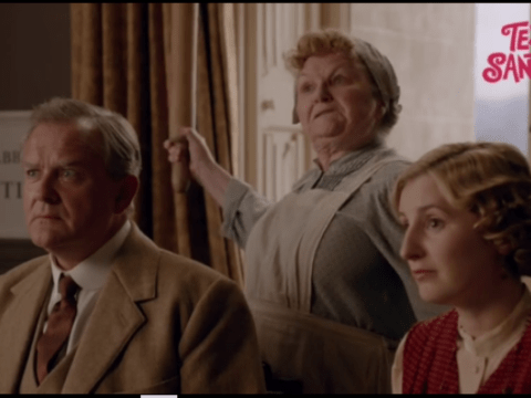 TEXT SANTA: WATCH Mrs Patmore say the F-word on Downton Abbey