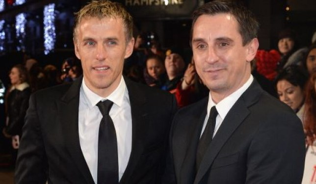 Gary Neville to Valencia: Phil Neville mocked on Twitter ...