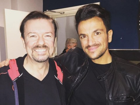 Peter Andre moves from the dancefloor to The Office as he cameos in David Brent movie