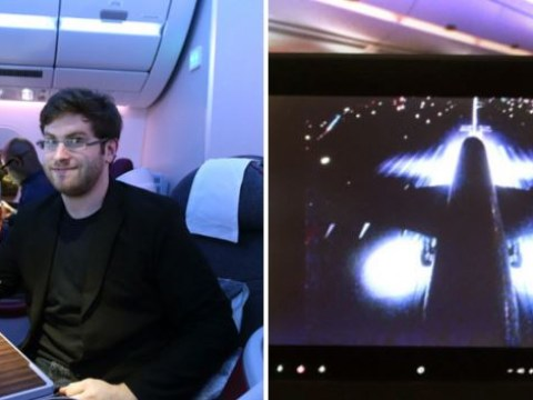 Video shows frightened passengers after plane abandons take-off