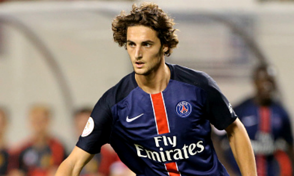Adrien Rabiot is said to be in talks with Arsenal (Picture:Getty)