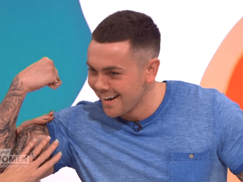 Ray Quinn shows off his new physique, says he's not on steroids