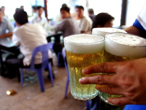 Alcohol is finally legal and the first beer has been served in this tiny town near New York