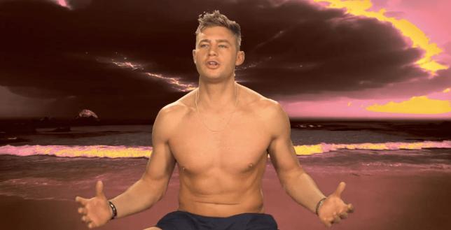 Ex On The Beach S4 - Geordie Shore's Scott Timlin (Picture: MTV)