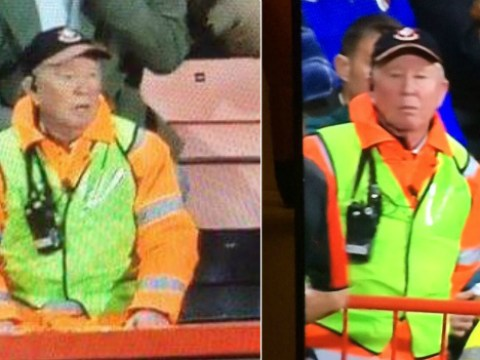 Sir Alex Ferguson look-alike spotted working as steward at AFC Bournemouth
