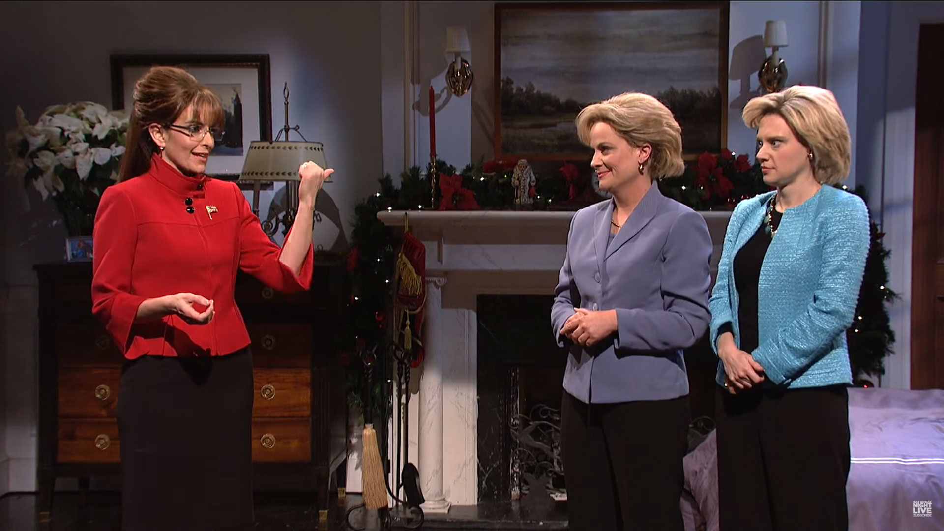 WATCH: Amy Poehler and Tina Fey are back as Hillary Clinton and Sarah Palin on Saturday Night Live