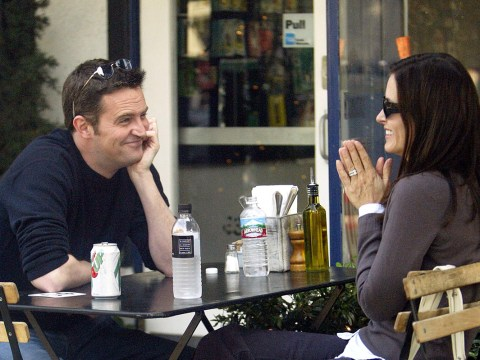 So ARE Courteney Cox and Matthew Perry dating?