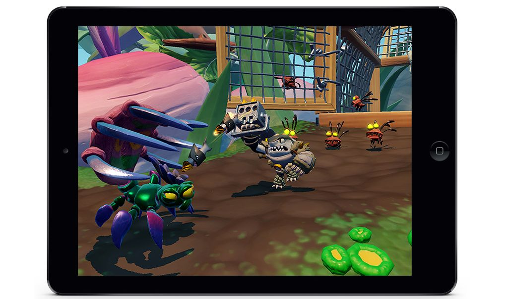 Skylanders SuperChargers (iOS) - is this the future of gaming?