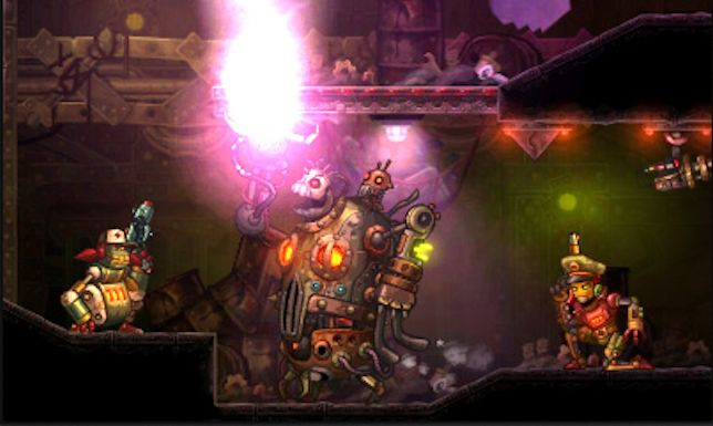 SteamWorld Heist (3DS) - can you dig it?