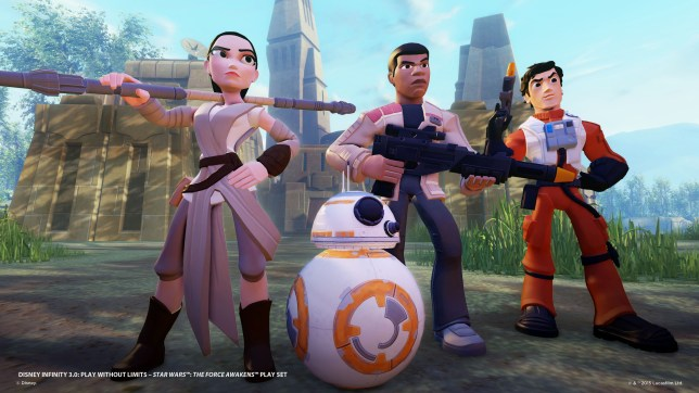 Disney Infinity 3.0: The Force Awakens (PS4) - the only game of the film