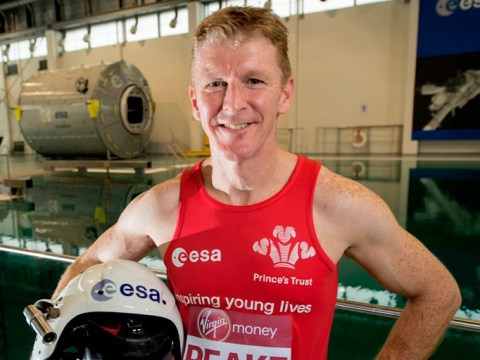British astronaut signs up to run the London marathon…in space