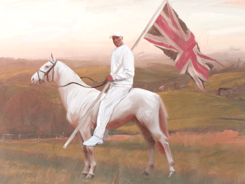 Artist turns grime MCs into members of the landed gentry in fancy oil paintings