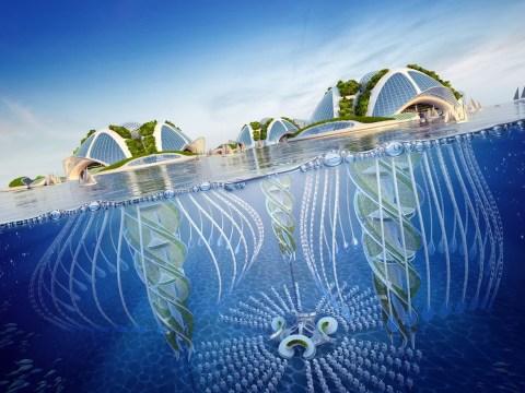 We're loving these designs of underwater cities