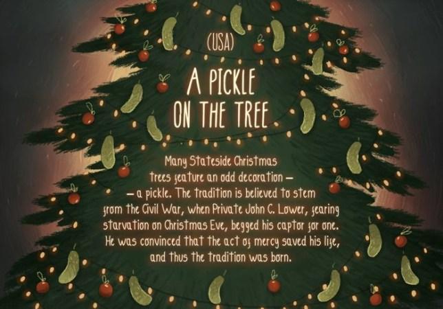 Christmas Traditions Around The World.Marie Muravski And Vashi Share Unusual Christmas Traditions