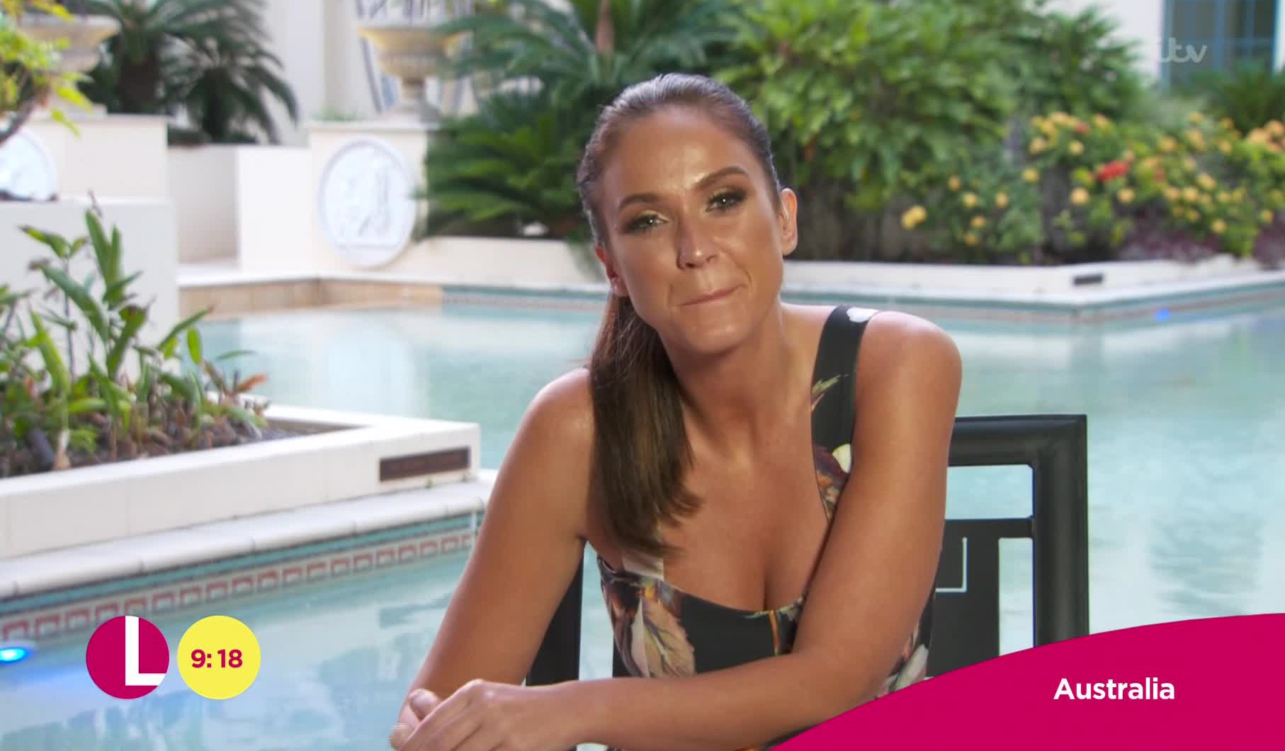 Vicky Pattison on the Lorraine show