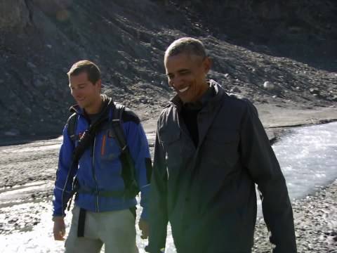 8 times Barack Obama was as normal as the rest of us on Running Wild With Bear Grylls